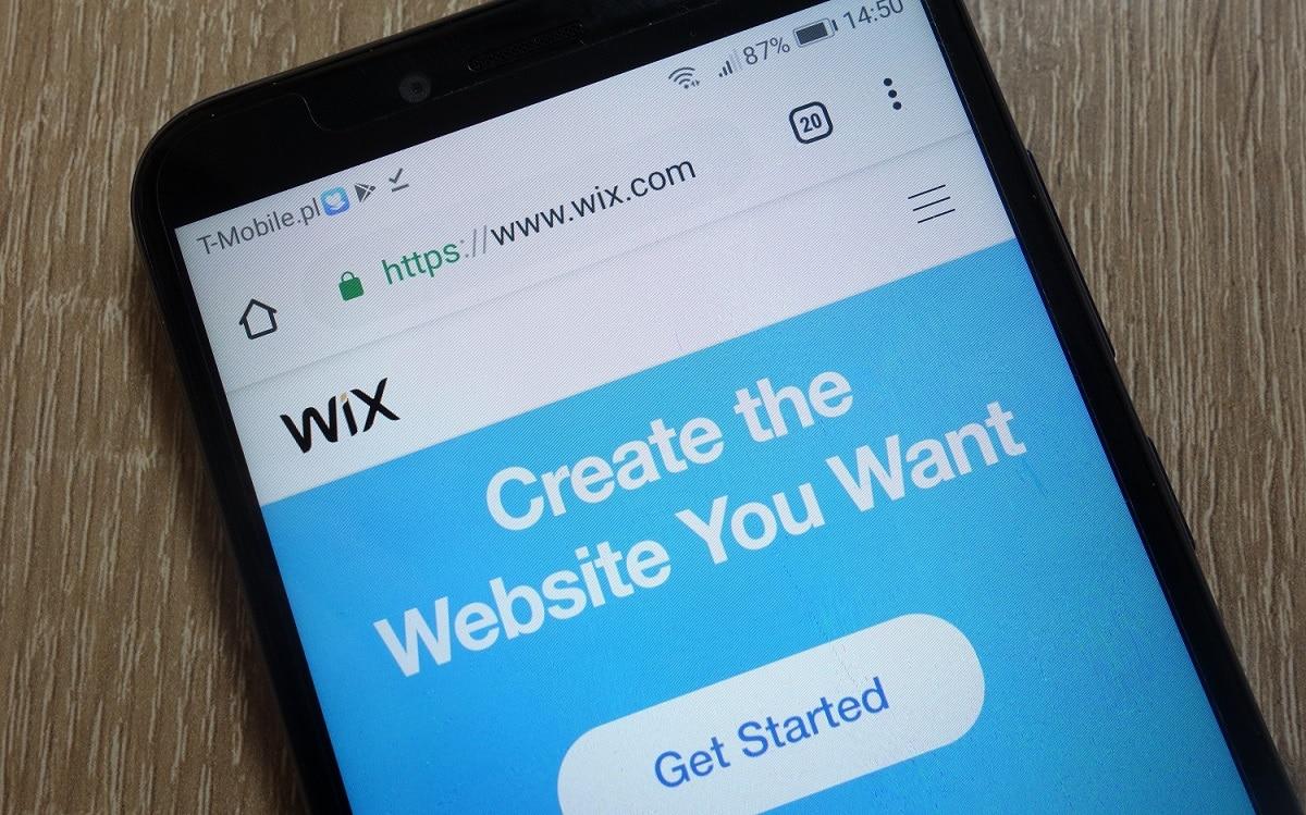 בניית אתר WIX